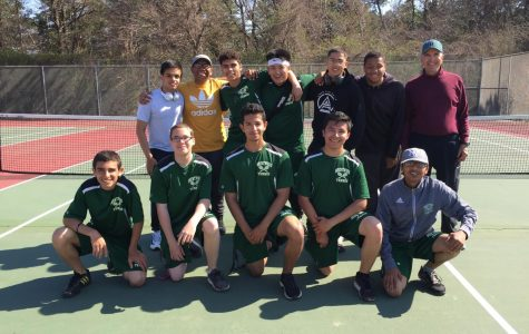 Boy's Tennis Steals 2018 League Championship!