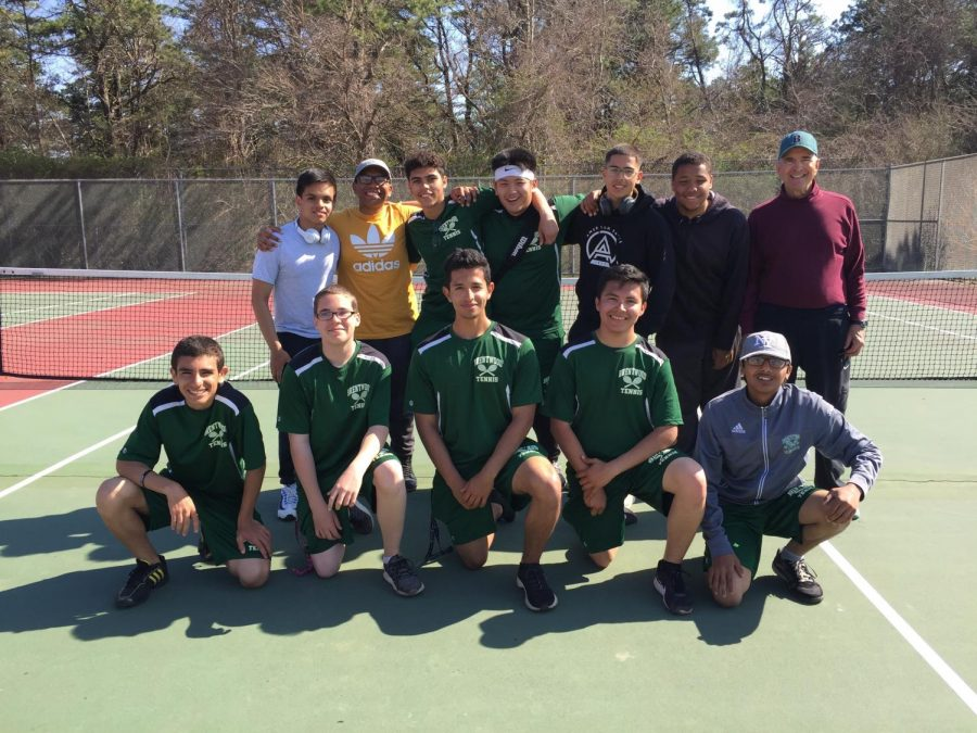 The+2018+Tennis+Team+of+Brentwood+High+School%3A+League+Champions%21