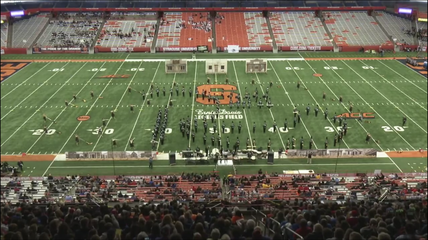 Green Machine performs at the Syracuse Carrier Dome!