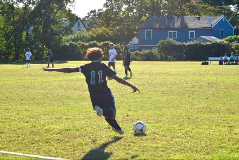 Boys Varsity Soccer First Home Game Photo Gallery
